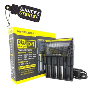 Nitecore D4 - Battery Charger - Ejuicesteals.com