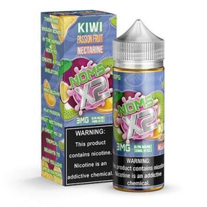 Noms X2 Kiwi Passion Fruit Nectarine By Nomenon 120Ml E-Juice