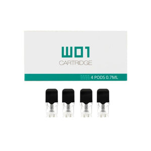 Ovns - W01 Replacement Cartridge 4 Pack Pods