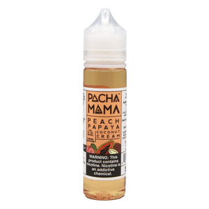 Pachamama - Peach Papaya Coconut Cream Ejuice - 60ml - Ejuicesteals.com