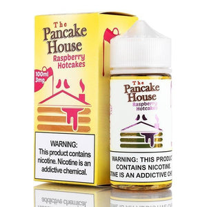 The Pancake House - Raspberry Hotcakes Ejuice - 100ml - Ejuicesteals.com