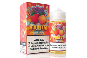 Killa Fruits On Ice - Red Apple Peach Ejuice 100Ml