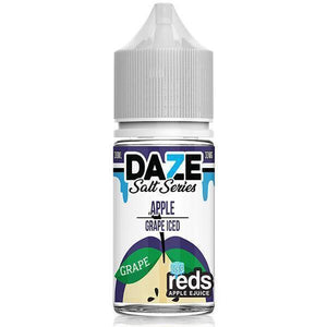 Reds 7 Daze Salt Series Iced - Grape Ejuice - 30ml - Ejuicesteals.com