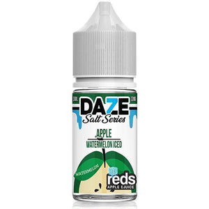 Reds 7 Daze Salt Series Iced - Watermelon Ejuice - 30ml - Ejuicesteals.com