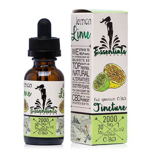 Savage CBD Essentials Tincture - Lemon Lime - 30ml - Ejuicesteals.com