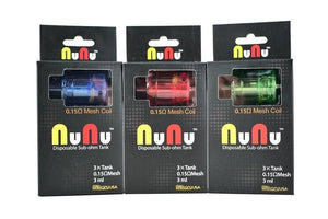 Sikaryusa Nunu Disposable Tank (3-Pack) Hardware
