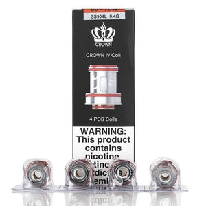 Uwell Crown 4 - Replacement Coils - 4 Pack - Ejuicesteals.com