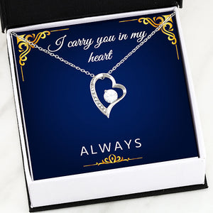 I Carry You in My Heart Necklace