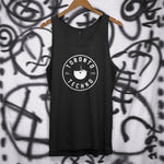 sublabel_Toronto_Techno_record_logo_rave_club_edm_tank_top_sleeveless_vest_black
