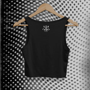 sublabel_afterhours_techno_rave_club_edm_crop_tank_cropped_raw_edge_womens_female_black_back