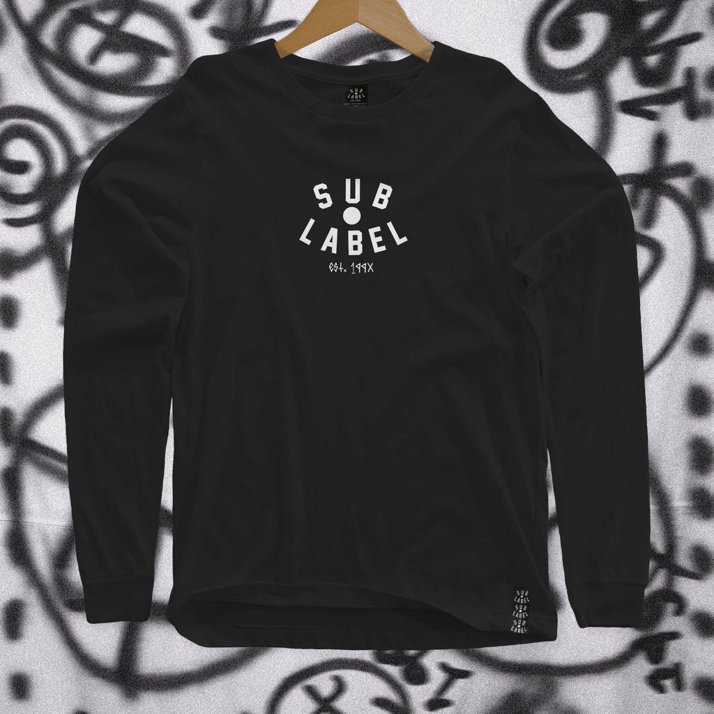 sublabel_pupil_logo_techno_rave_club_edm_long_sleeve_black