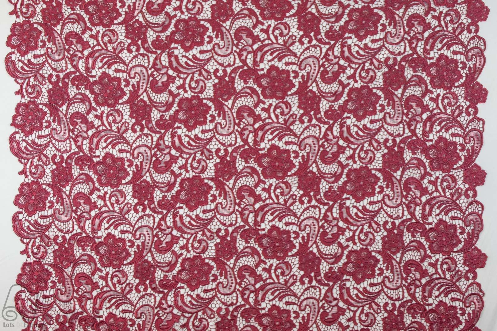 Floral guipure venice heavy lace fabric by the yard or for Cheap fabric by the yard