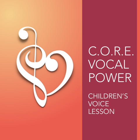 Children's Voice Lessons - Online & In-Studio