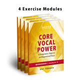 Core Vocal Power Digital WorkBooks