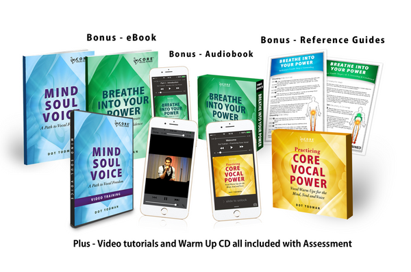 CORE Voice Lesson Gift Certificates