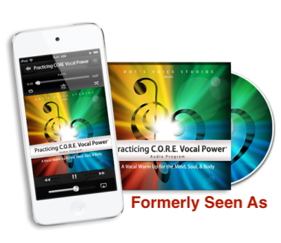 Practicing CORE Vocal Power Audio Program