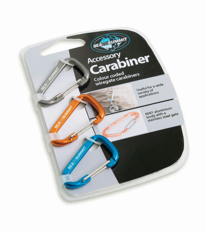 Accessory Carabiner (3-pack) - Overland Track Transport