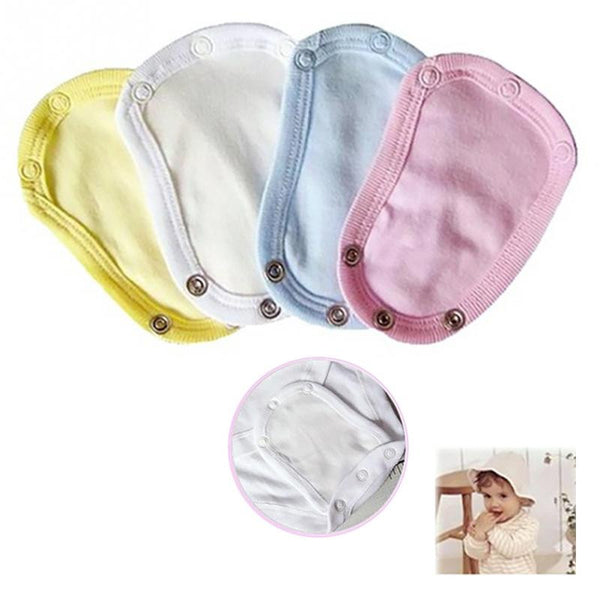 1PC Lovely Baby Boys Girls Kids Romper Partner Super Utility Bodysuit Jumpsuit Diaper Romper Lengthen Extend Film 4 Colors - Amariah's