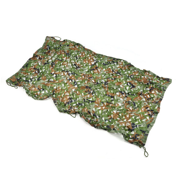 1mx2m Camouflage Net Military Hunting Camping Net/ Military Camo Net Jungle Woodland Leaves Camo Cover Car Drop Net - Amariah's