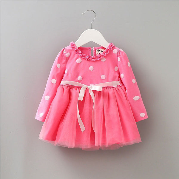 2017 autumn winter newborn infant baby clothes dress for baby girl clothing princess party Christmas dresses tutu dress vestidos - Amariah's