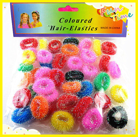 45pcs/lot Colorful Child Kids Hair Holders Cute Rubber Bands Hair Elastics Accessories Lovely Girl's Charms Tie Gum - Amariah's