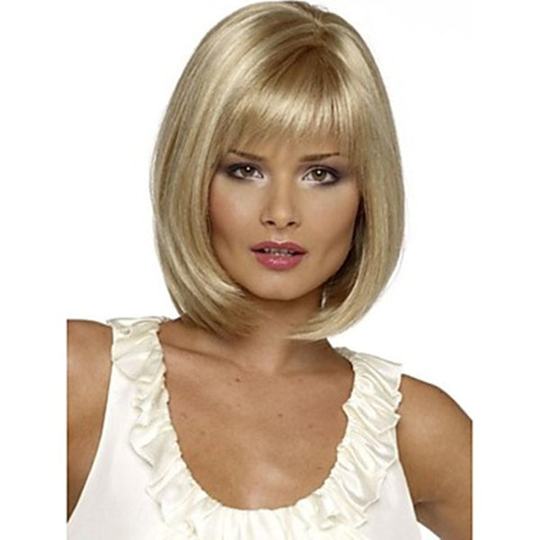 HAIRJOY Top Grade Synthetic Middle Long  Straight Bob Hairstyle Wig for Women - Amariah's