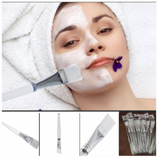 Home DIY Facial Face Eye Mask Use Soft mask Brush Treatment Cosmetic Beauty Makeup Tool - Amariah's