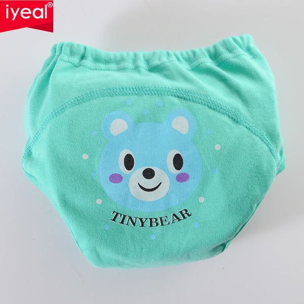 Hot High Quality Baby Diapers /Nappies Cloth Diaper/Nappy Toddler Girls Boys waterproof cotton potty training pants 4 layers8PCS - Amariah's