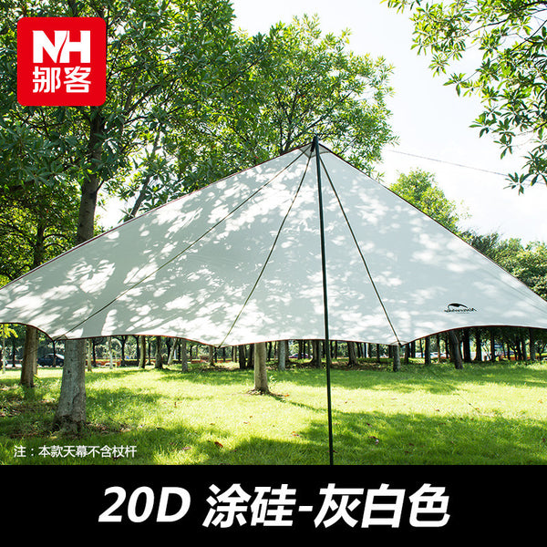 Naturehike New Outdoor ultraviolet proof Sunshade Waterproof Awning Canopy Tent Sun Shelter Outdoor Shade Tent NH15T003-M20D - Amariah's