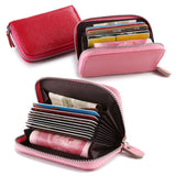 Patent Leather Zipper Cute Wallets Women Small Red Purse Ladies Fashion Billeteras mujer Cartera Portefeuille Femme - Amariah's