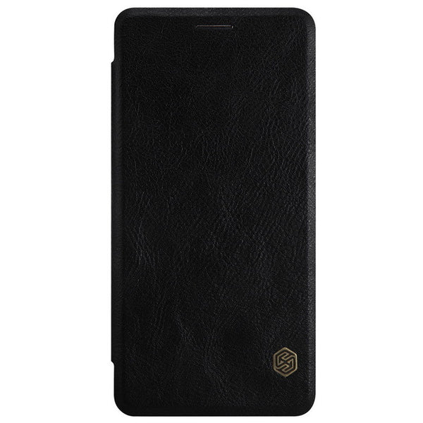 Oneplus 3T Case Nillkin Qin Genuine Real Nature Leather Flip Cover Case For One plus 3 A3000 With Sleep Function Retail Package - Amariah's