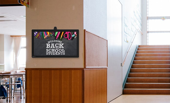 4 Smart Ways To Use Digital Signage In Schools