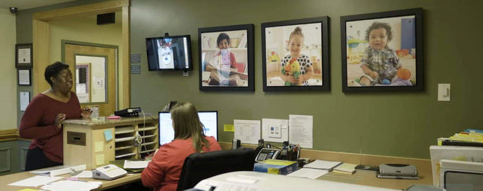 Here's How One Preschool Uses Digital Signage