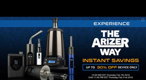 Arizer Vaporizer Sale