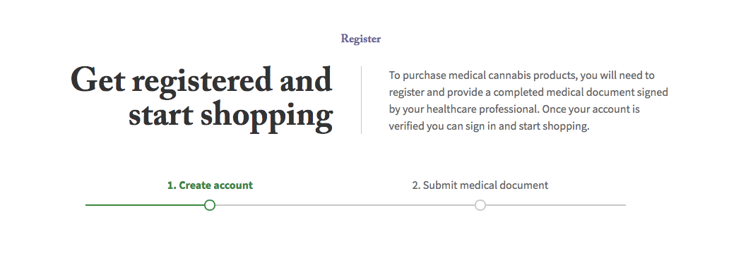 Shoppers drug mark signup form.
