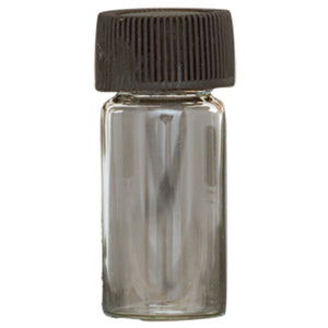 2.5g Size Vial with Lid (144 in Case)