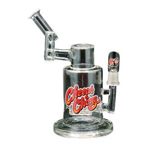 Cheech & Chong™ Glass Ashley Roachclip Concentrate Bubbler