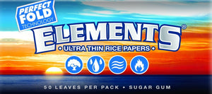 Elements 1 1/4 Perfect Fold Rolling Papers