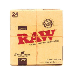 RAW Natural Connoisseur King Size w/Tips