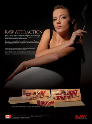 RAW Natural Rolls 9 Feet