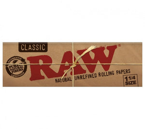 RAW Natural Unbleached 1 1/4 Size