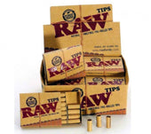 RAW Tips Pre-Rolled Unbleached