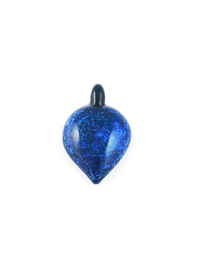 Local Glass Pendant Blue Sparkles
