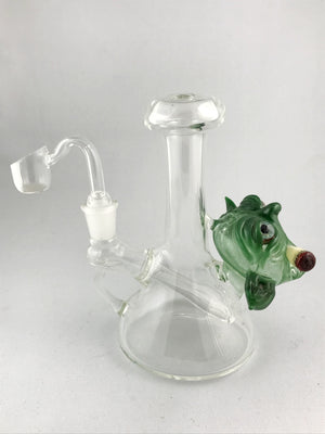 Local Glass Vagabond Glass & Redbeard Glass Yoda Rig