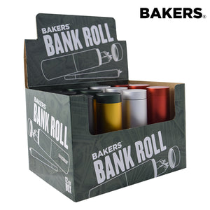 Bakers Bank Roll Air Tight Storage Container