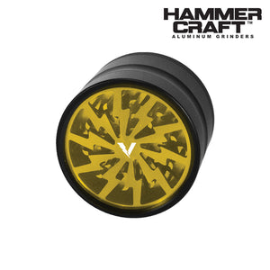Hammercraft Volt 4 Piece Grinder Yellow
