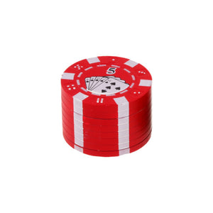 Poker Chip 3 Piece Grinder