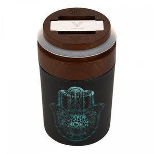 Smart Stash Jar and Grinder Hamsa