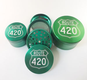 Route 420 Grinder 4 Piece Green