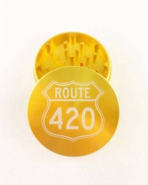 Route 420 Medium 2 piece grinder
